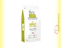 Купить Brit Care Adult Small Breed Lamb&Rice корм для собак мелких пород 7,5кг