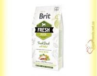 Купить Brit Fresh Duck&Millet Active Dogs корм для активных собак с Уткой и Просом