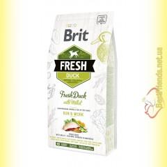 Brit Fresh Duck&Millet Active Dogs корм для активных собак с Уткой и Просом