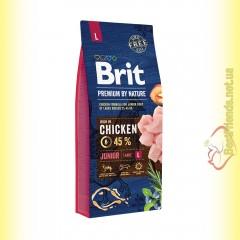 Brit Premium Adult Junior L корм для щенков крупных пород
