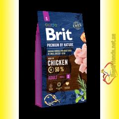 Brit Premium Adult S корм для собак мелких пород 8кг