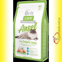 Brit Care Cat Angel корм для пожилых кошек 7кг