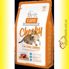Brit Care Cat Cheeky корм для кошек, живущих на улице 7кг