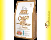 Купить Brit Care Cat Cocco корм для привередливых кошек 7кг