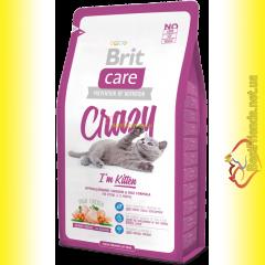 Brit Care Cat Crazy корм для котят 7кг