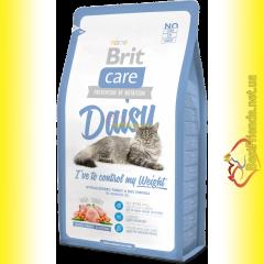 Brit Care Cat Daisy корм для кошек с избыточным весом 7кг