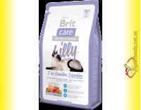 Купить Brit Care Cat Lilly корм для кошек с чувствительным пищеварением 7кг