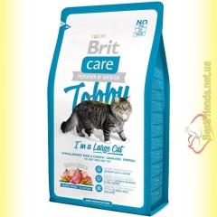 Brit Care Cat Tobby корм для кошек крупных пород 7кг