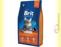 Купить Brit Premium Cat Indoor корм для кошек, живущих в помещении 8кг