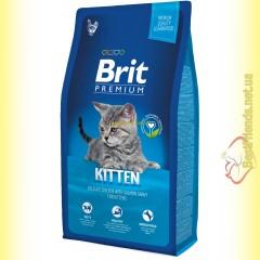 Brit Premium Cat Kitten корм для котят 8кг
