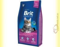 Купить Brit Premium Cat Light корм для кошек c избыточным весом 8кг