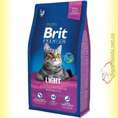 Brit Premium Cat Light корм для кошек c избыточным весом 8кг