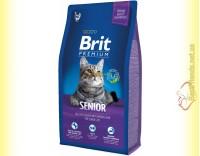 Купить Brit Premium Cat Senior корм для пожилых кошек 8кг