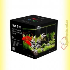 COLLAR Pico Set 5л настольный аквариумный набор