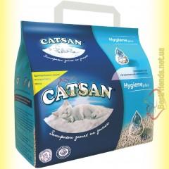 Catsan Hygiene plus впитывающий гигиенический наполнитель 10л