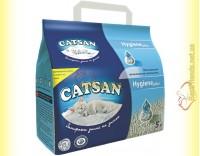 Купить Catsan Hygiene plus впитывающий гигиенический наполнитель 5л