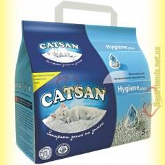 Catsan Hygiene plus впитывающий гигиенический наполнитель 5л