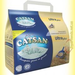 Catsan Ultra plus Комкующийся гигиенический наполнитель 5л
