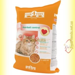 Club 4 Paws Hairball Control 11кг