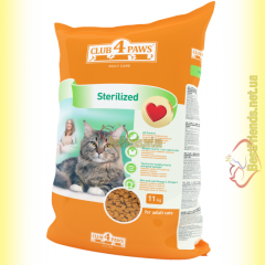 Club 4 Paws Sterilized 11кг