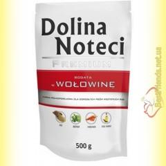 DN Premium doypack для собак с говядиной 500гр