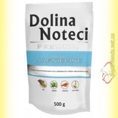 DN Premium doypack для собак с ягненком 500гр