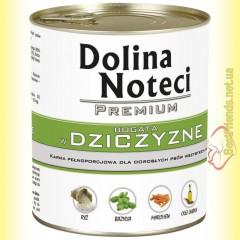 DN Premium консерва для собак с дичью 800гр