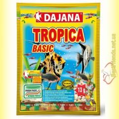 Dajana Tropica Basic 13гр. корм для декоративных рыбок