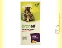 Купить Drontal плюс таблетки со вкусом мяса для собак