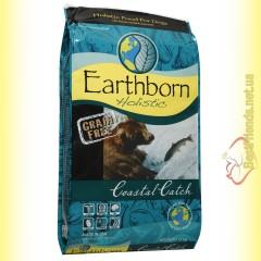 Earthborn Holistic Coastal Catch Беззерновой корм для собак 12кг