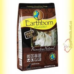 Earthborn Holistic Primitive Natural Беззерновой корм для собак 2,5кг