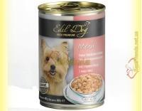 Купить Edel Dog нежные кусочки в соусе 3 вида мяса 400гр