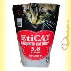 EtiCAT Силикагелевый наполнитель 3.8л