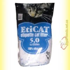EtiCAT Силикагелевый наполнитель 5л