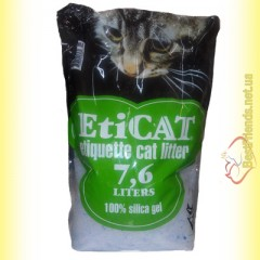 EtiCAT Силикагелевый наполнитель 7,6л