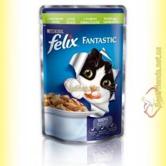 Felix Fantastic кусочки с Кроликом в желе 100гр