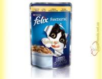 Купить Felix Fantastic кусочки с Курицей в желе 100гр