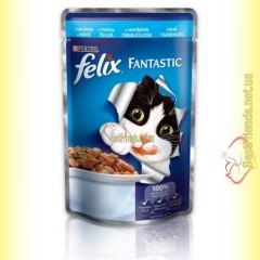 Felix Fantastic кусочки с Треской в желе 100гр