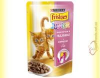 Купить Friskies для котят с Курицей в подливе, 100гр