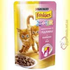 Friskies для котят с Курицей в подливе, 100гр