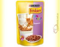 Купить Friskies для котят с Ягненком в подливе, 100гр