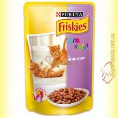 Friskies для котят с Ягненком в подливе, 100гр