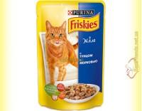 Купить Friskies с Тунцом и морковью в желе, 100гр