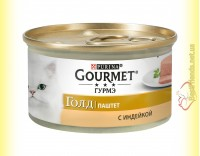 Купить Gourmet Gold паштет с Индейкой 85гр
