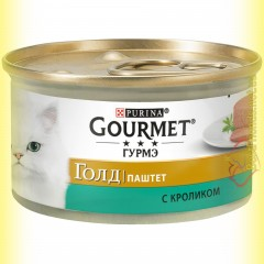 Gourmet Gold паштет с Кроликом 85гр