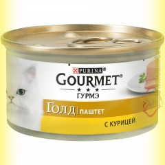 Gourmet Gold паштет с Курицей 85гр