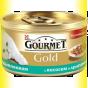 Gourmet Gold кусочки в подливке с Лососем и Цыпленком 85гр