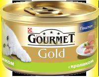 Купить Gourmet Gold паштет с кроликом 85гр