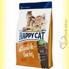 Happy Cat Supreme Atlantik Lachs корм для кошек с лососем 10кг