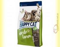 Купить Happy Cat Supreme Weide Lamm корм для кошек с ягненком 10кг